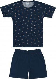 Pijama Masculino Infantil de Malha - Malwee Kids