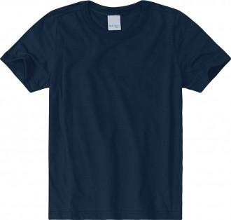 Imagem - Camiseta Masculina Infantil De Malha U.V - Malwee Kids ; - 784859_2023--AZUL ESCURO