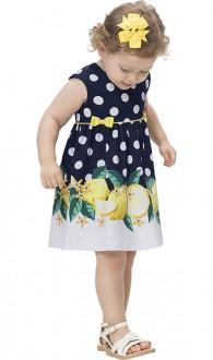 Imagem - Vestido De Cotton Para Bebê - KYLY - 1532213_6826-MARINHO