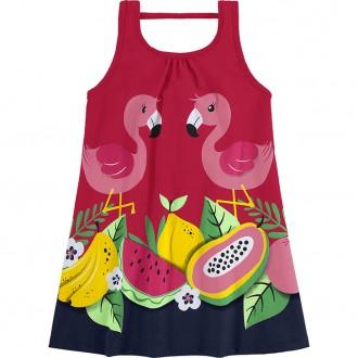 Vestido Meia Malha Para Bebê - KYLY