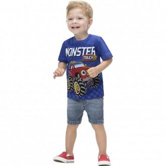 Imagem - Camiseta Malha Masculino Infantil Kyly - 1532216_6832-AZMONACO