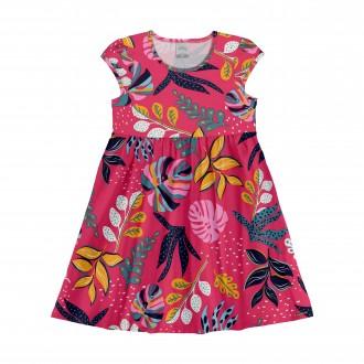 Imagem - Vestido Meia Malha Infantil - LUNENDER - 1393667_N7822R--R.BEVERLY