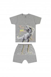 Pijama Masculino Meia Malha Infantil - Elian