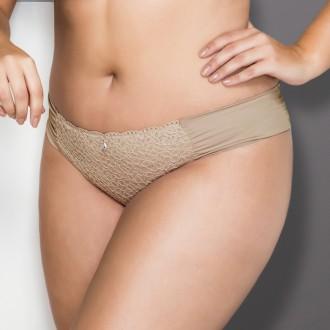 Imagem - Calcinha Biquini Plus Size Drappe Dilady - 173439_316 CACAU