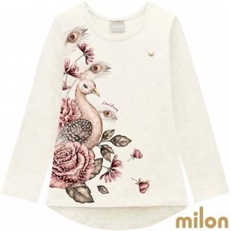 Imagem - Conjunto Feminino Malha Infantil Milon - Kyly - 420918_0452-OFF WHITE