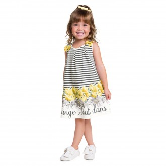 Vestido De Cotton Para Bebê - MILON