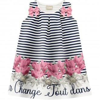 Imagem - Vestido De Cotton Para Bebê - MILON - 420939_6826--AZUL MARINHO