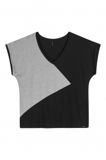 Blusa Feminina Plus Size De Viscose Adulto - Maelle
