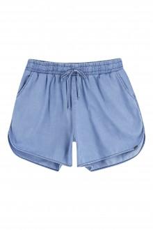 Imagem - Shorts Plus Size Feminino Jeans Adulto - Maelle - 478802_6128--DARK BLUE