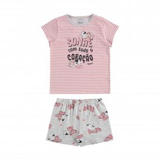 Pijama Feminino de Malha - Alakazoo!