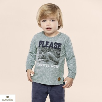 Imagem - Camiseta meia malha flame - COLORITTÁ - 478450_5207-VERDE