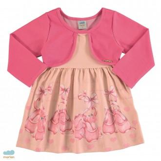 Vestido bailarina feminino infantil - Marlan