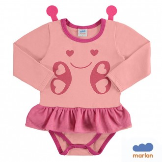 Body Cotton Fantasia Infantil Marlan