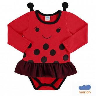 Imagem - Body Cotton Fantasia Infantil Marlan - 494237_VR0031-TOMATE