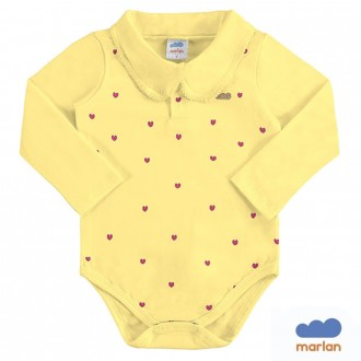 Imagem - Body Polo Sudiene Infantil Marlan - 494226_AM0021-AMARELO CLARO