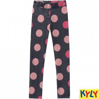 Imagem - Calça Legging de Molecotton Feminino Infantil Kyly - 1532166_0484-CINZA