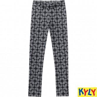 Calça Legging de Molecotton Feminino Infantil Kyly