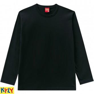Imagem - Camiseta meia malha - KYLY - 1031850_9010-PRETO