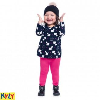 Imagem - Conjunto Blusa e Legging Kyly - 1031862_6826-AZUL MARINHO