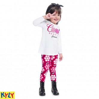 Imagem - Conjunto blusa e legging - KYLY - 1031870_0001-BRANCO