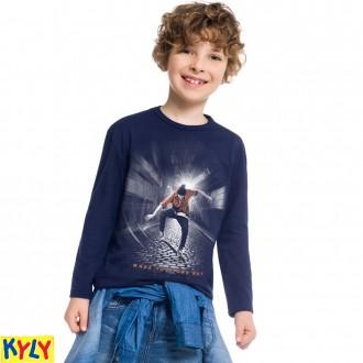 Imagem - Camiseta manga longa - Kyly - 1031889_6826-AZUL MARINHO