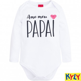 Body Cotton C/ Frases Infantil Kyly