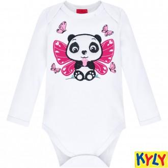 Imagem - Conjunto Body Feminino Infantil Kyly - 1532131_0001-BRANCO
