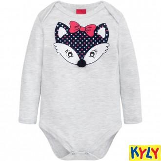 Imagem - Conjunto Body Feminino Infantil Kyly - 1532155_0467-MESCLA WHITE
