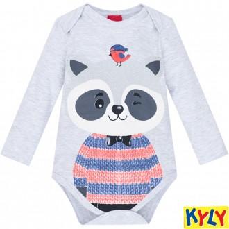 Body Masculino Sudiene Infantil Kyly