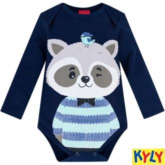Imagem - Body Masculino Sudiene Infantil Kyly - 1532118_6826-MARINHO