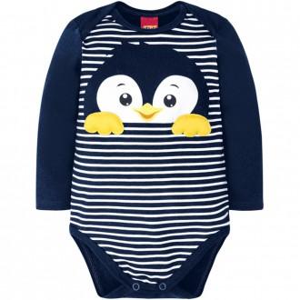 Imagem - Body Masculino Infantil Cotton Kyly - 1532189_6826-MARINHO