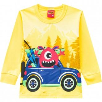 Camiseta Malha Masculina Infantil Kyly