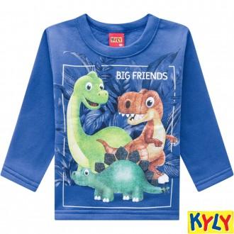 Conjunto Moletom Masculino Infantil Kyly