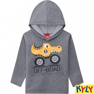 Conjunto Moletom C/ Capuz Masculino Infantil  Kyly