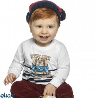 Imagem - Camiseta meia malha - ELIAN - 478344_2001-BRANCO