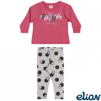 Conjunto Feminino Moletom Infantil Elian