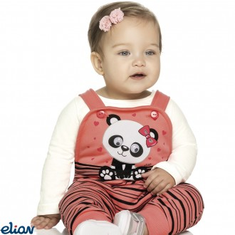 Imagem - Macacão de moleton com blusa - ELIAN - 478355_2037-CREME
