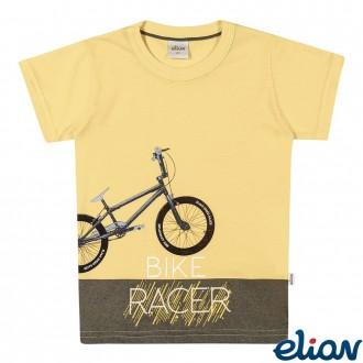 Imagem - Camiseta Masculina Infantil Elian - 478606_3034-AMARELO CLARO