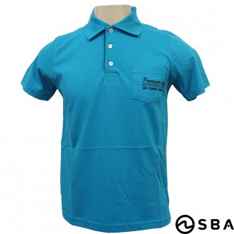 Camiseta Polo Adulto Masculino World Blue - SBA