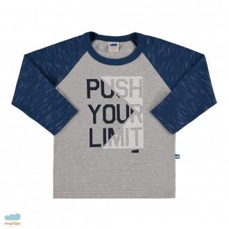 Imagem - Camiseta de manga longa masculino infantil - Marlan - 494120_AZ0001-MARINHO