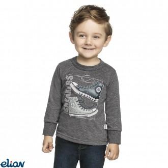 Imagem - Camiseta meia malha - ELIAN - 478360_8023-MESCLA ESCURO
