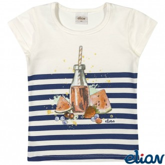 Blusa de Cotton Feminina Infantil Elian