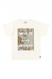 Imagem - Camiseta Masculina Infantil de Malha - Elian - 478854_2037-NATURAL-2037-NATURAL