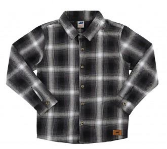 Camisa infantil  masculina tecido de flanela - Marlan