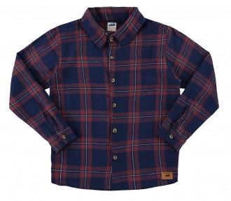 Imagem - Camisa infantil  masculina tecido de flanela - Marlan - 494128_VR0033-ESCARLATE