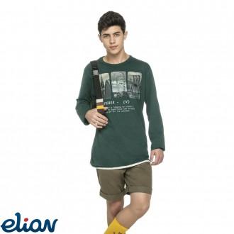 Imagem - Camiseta Meia Malha Elian - 478387_5207-VERDE-5207-VERDE