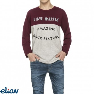 Imagem - Camiseta Meia Malha Elian - 478392_4320-VINHO-4320-VINHO