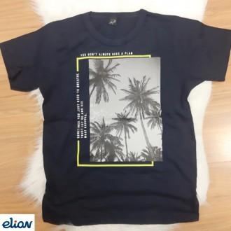 Imagem - Camiseta Meia Malha Masculino  Juvenil - Elian - 478545_7001-PRETO