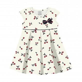 Imagem - Vestido para Bebê de Malha Nikko - Alakazoo! - 1393718_011015--BRC OOF WHITE