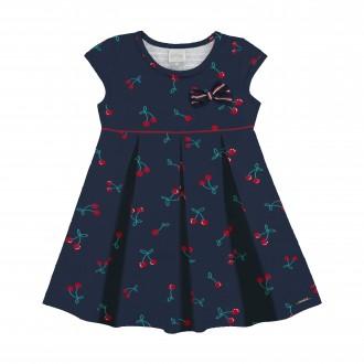Vestido para Bebê de Malha Nikko - Alakazoo!